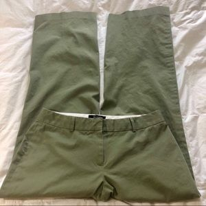Body by Victoria Wide Leg Pants Green Marisa Sz 8
